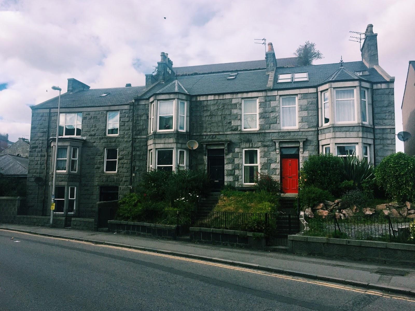 Granite Architecture in Aberdeen Scotland
