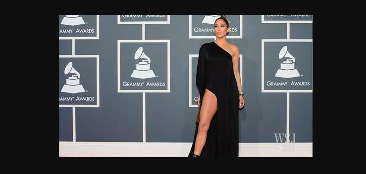jlo grammy dress