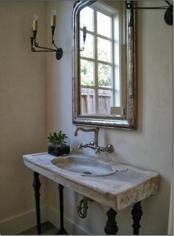 antique marble sink