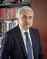 "IEA head Fatih Birol is ""hopeful, but not fully confident."" (Credit: Image courtesy of the International Energy Agency; photograph by Ed Jones 