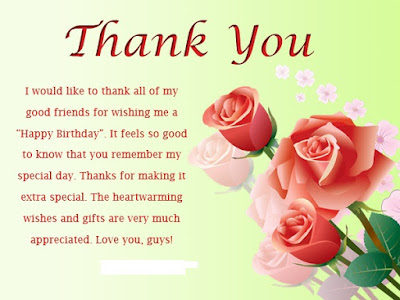 Thanks Wishes For Friends