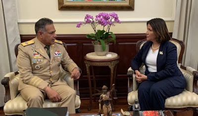 Vicepresidenta Margarita Cedeño afirma que todo en la frontera dominicana  está bajo control
