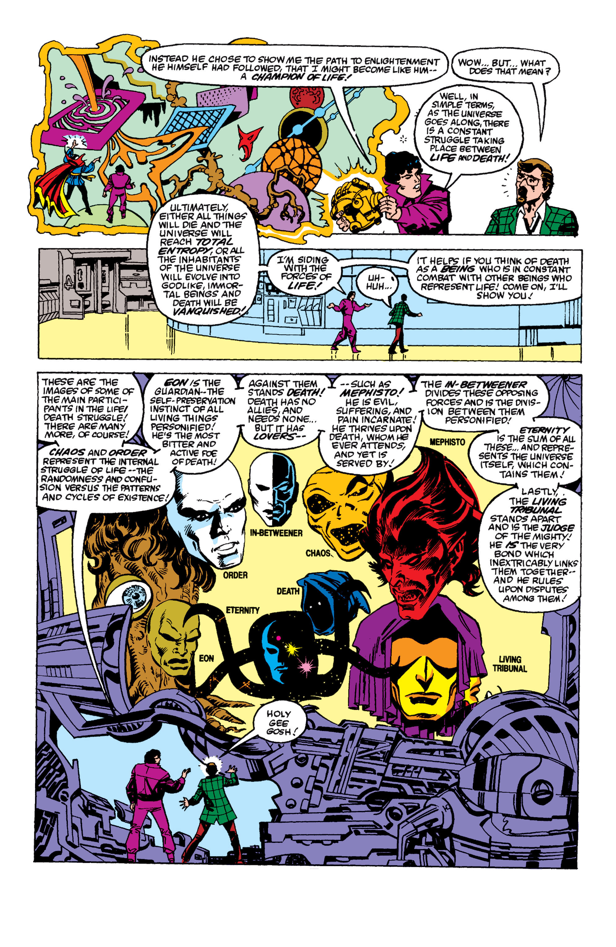 Read online Secret Wars II comic -  Issue #6 - 8