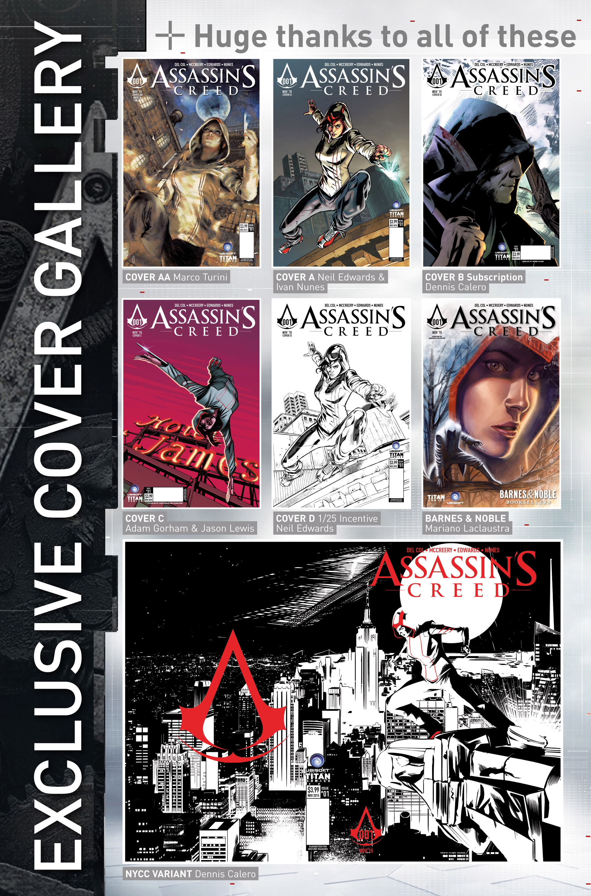 Read online Assassin's Creed (2015) comic -  Issue #1 - 31