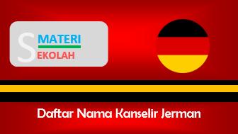 Nama-Nama Kanselir Jerman Sepanjang Masa (Terlengkap)