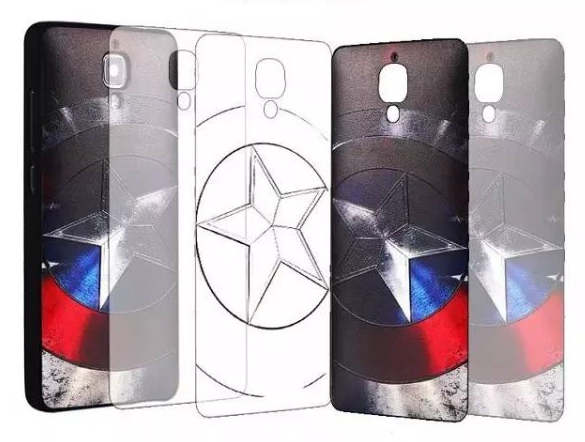 3D Relief Soft Case Untuk Xiaomi Mi4