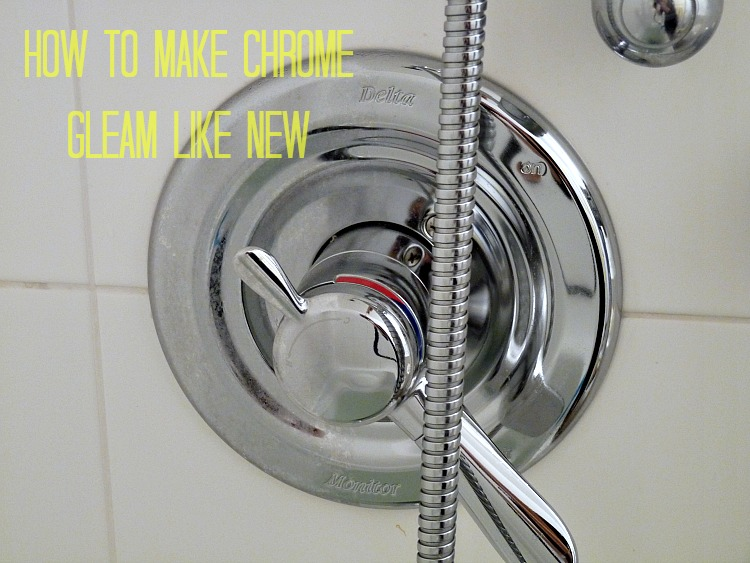 How to clean chrome and stainless and keep it looking new // Great cleaning tips