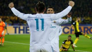 Madrid Tumbangkan Dortmund 1-3