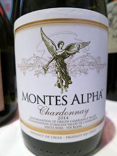 Montes Alpha Chardonnay 2014 (88+ pts)