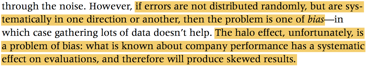Misunderstanding the nature of company performance the halo effect and other business delusions