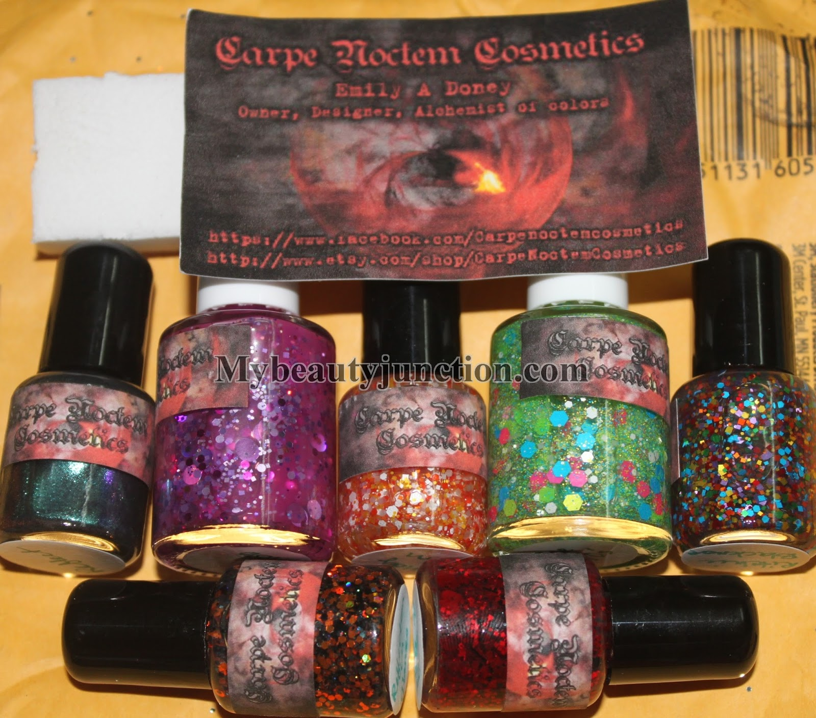 Indie nail polishes from Carpe Noctem Cosmetics\' Etsy shop ...