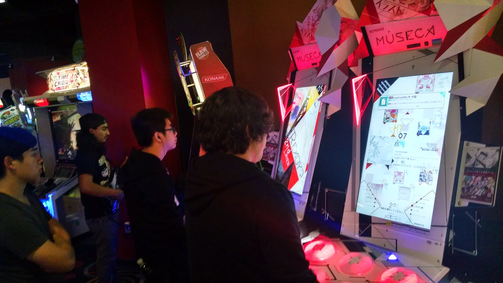 The (Unofficial) Round 1 Arcade Hub: New Addition! MUSECA
