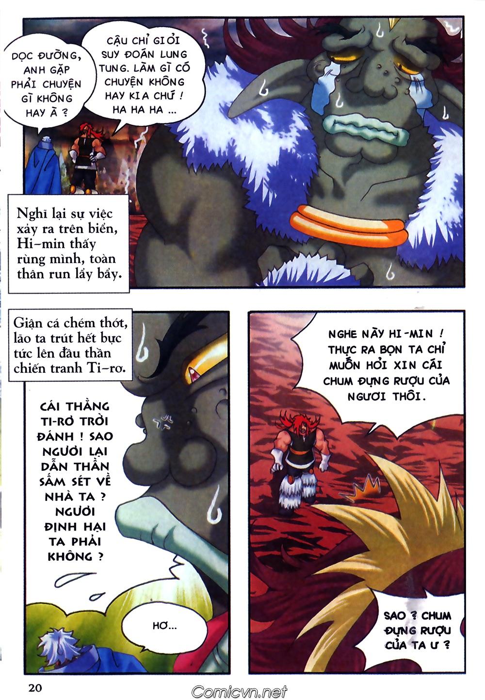 Thần thoại Bắc Âu - Chapter 37: Lão cha dượng xấu tính - Pic 21