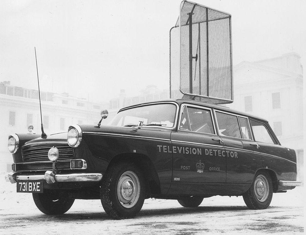 television detector van