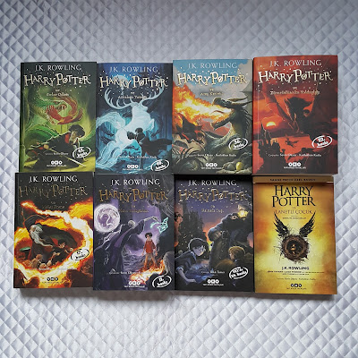 Harry Potter serisi set - 8 kitap