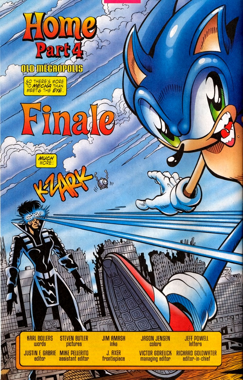 Read online Sonic The Hedgehog comic -  Issue #133 - 4
