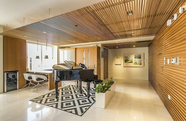 wood false ceiling designs: beautiful wooden ceiling and wall