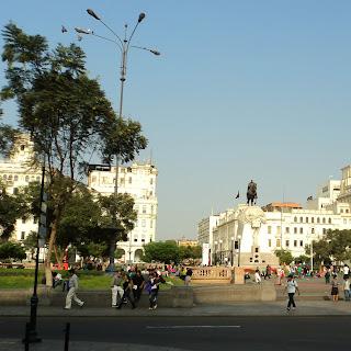 Visão Geral da Plaza San Martín, em Lima