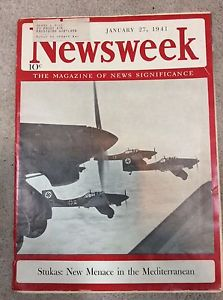 27 January 1941 worldwartwo.filminspector.com Newsweek Stukas