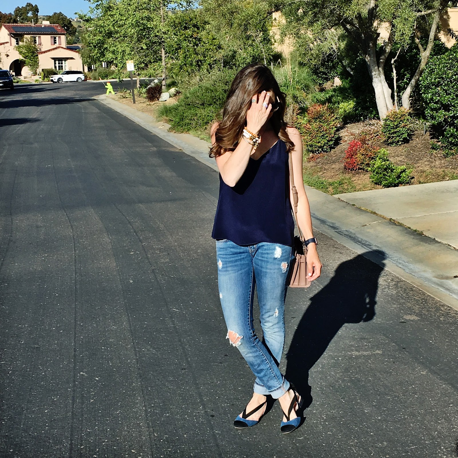 navy outfit