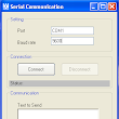 SerialComm : Serial Communication (Chat) - HadiSCADA