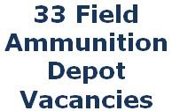 33 FAD, Tradesman, Fireman, Civilian Jobs