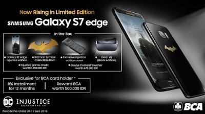 Samsung Galaxy S7 Edge Injustice Edition, Berani Beli?