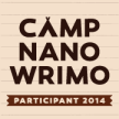 Camp NaNoWriMo, July 2014