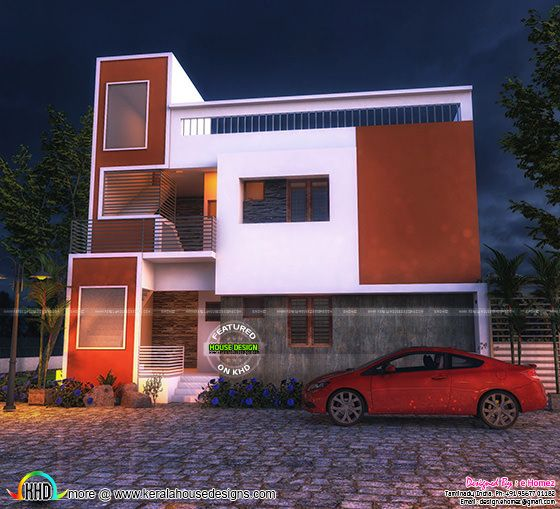 Contemporary home Tamilnadu