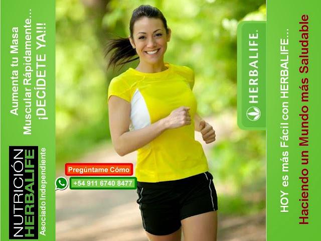 aumento de masa muscular y perdida de peso