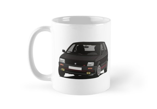 SEAT Ibiza SXi illustration - Coffee mug