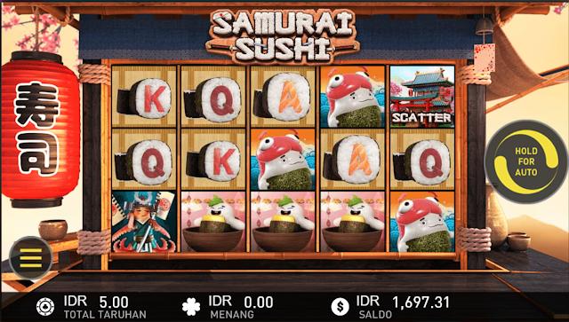 SITUS AGEN SLOT SAMURAI SUSHI GAMES W88
