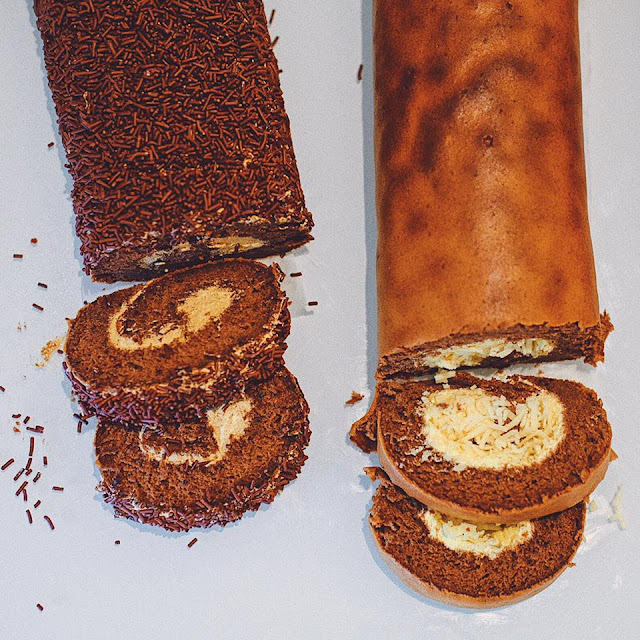 Swiss Roll Cake