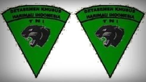 Lambang dan logo pasukan dentasemen khusus Harimau