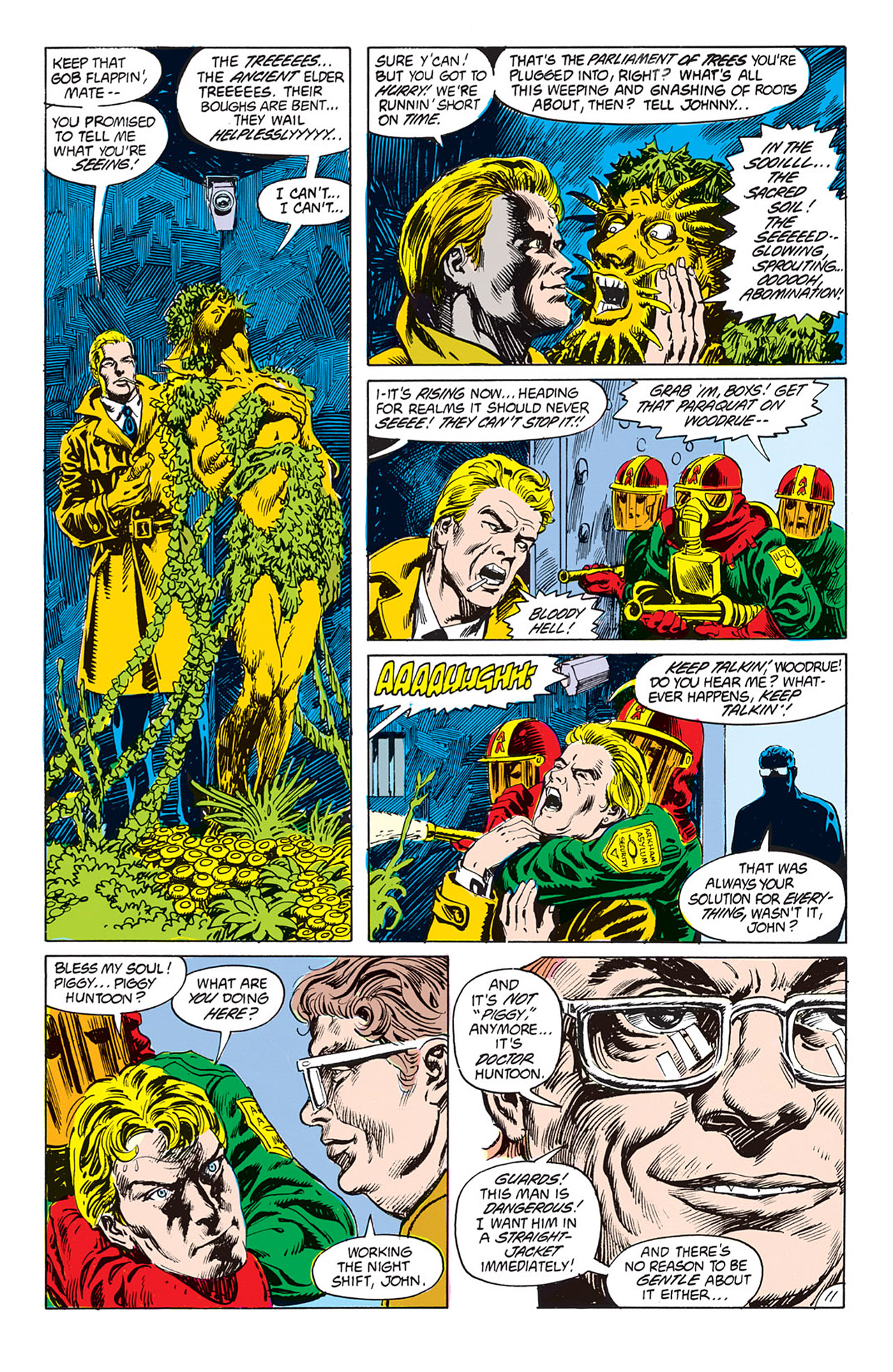 Swamp Thing (1982) Issue #66 #74 - English 11