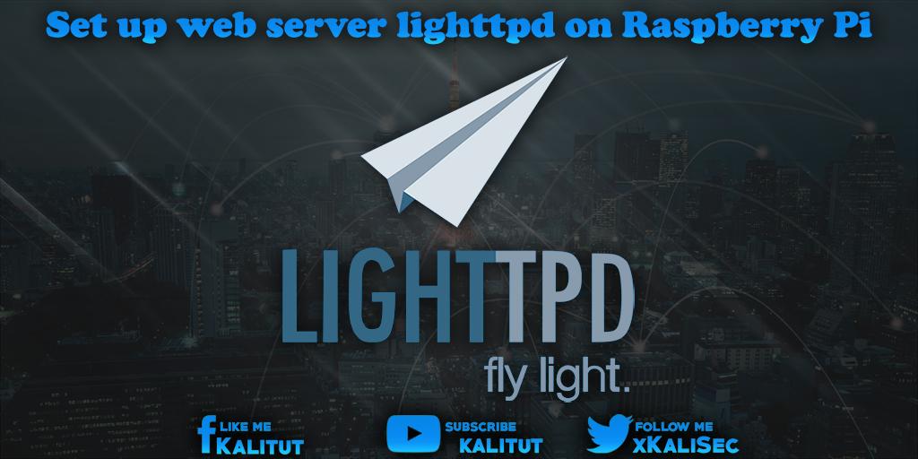 apt-get install lighttpd