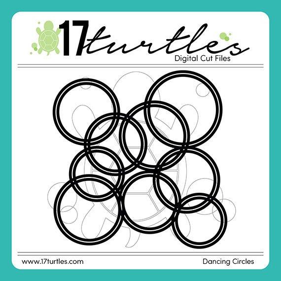 17turtles Digital Cut File Dancing Circles