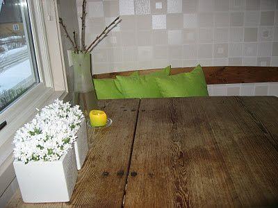 Ideer til hvit blomstring i krukker - hvit campanula på kjøkkenet