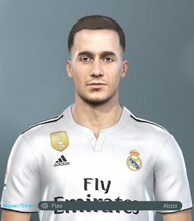 PES 2019 Faces Lucas Vázquez by Hugimen
