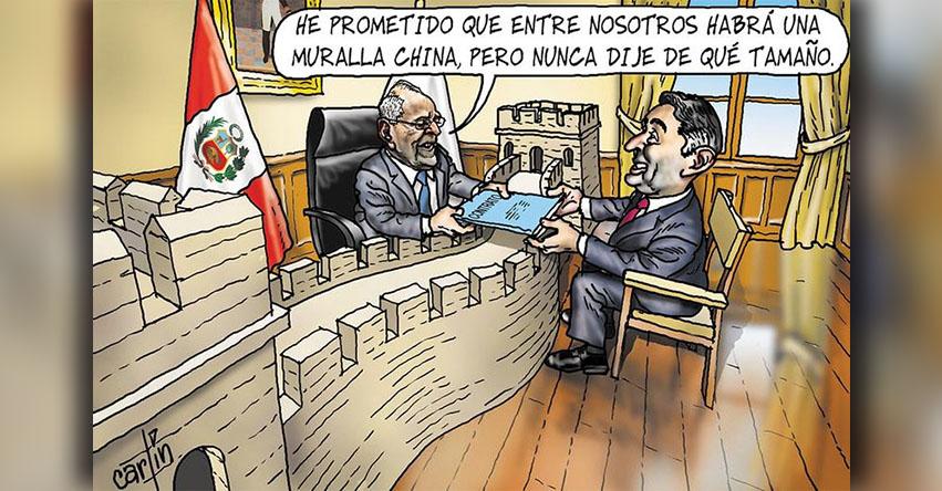 Carlincaturas Miércoles 21 Febrero 2018 - La República