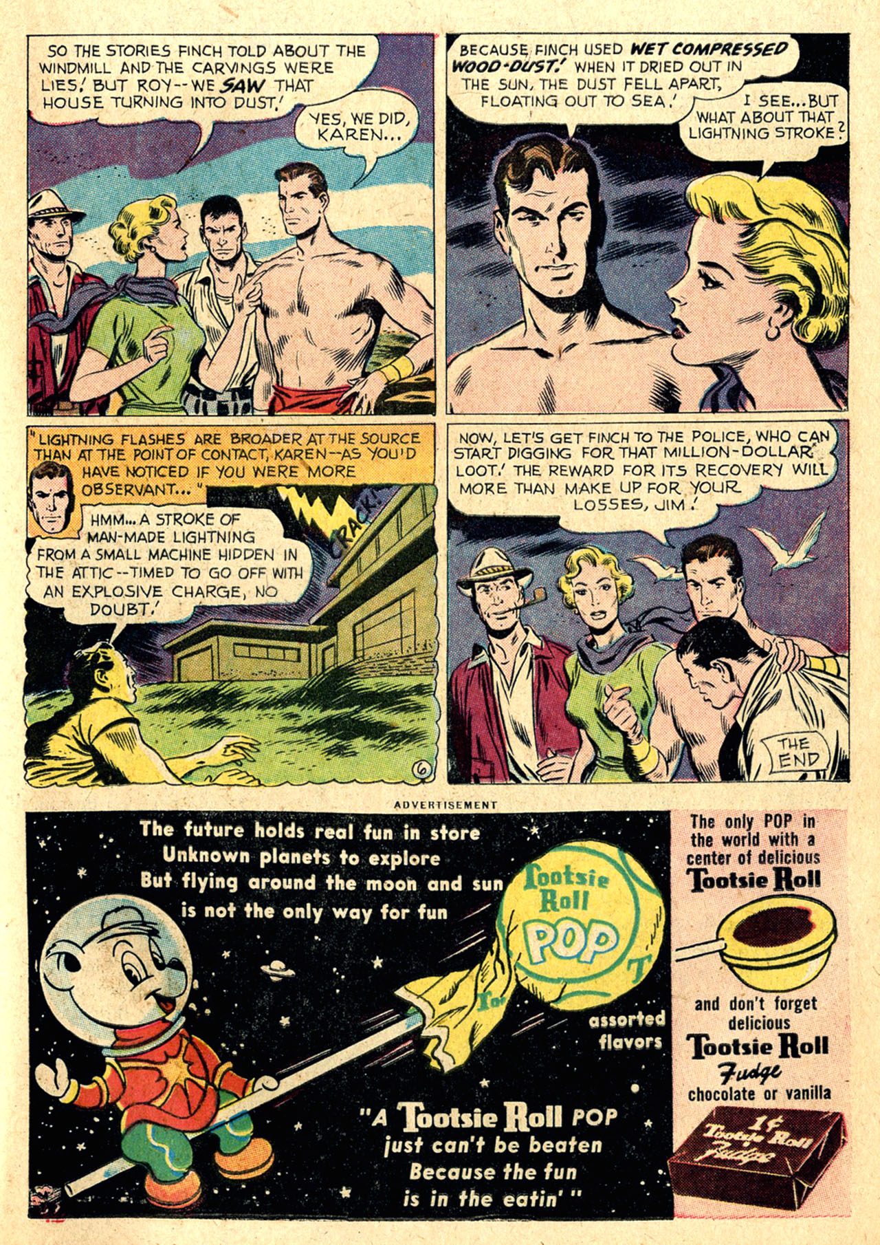 Read online Detective Comics (1937) comic -  Issue #260 - 23