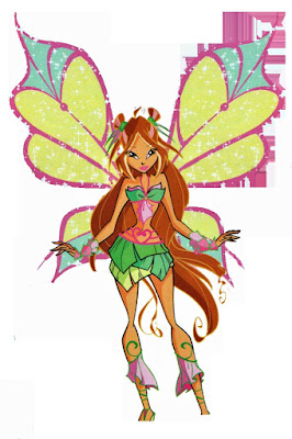 Top ảnh hoạt hình của tiên nữ Winx Flora cực kute