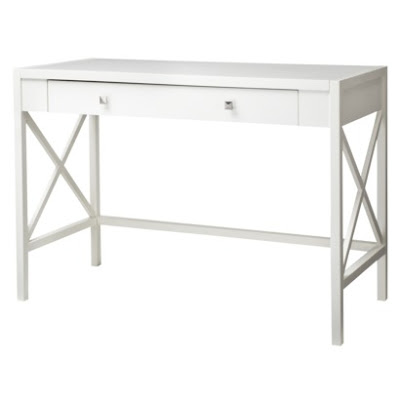 Simple Details deal alerttarget white desk