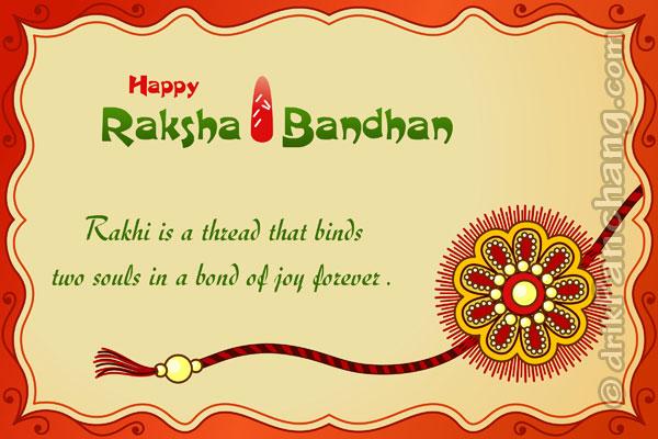 Happy Rakhi Greetings, Best Raksha Bandhan Greeting Cards 2015
