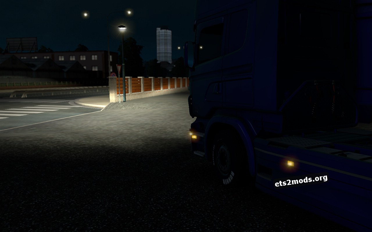 Xenon for Scania RJL by Pridak Monster_PL