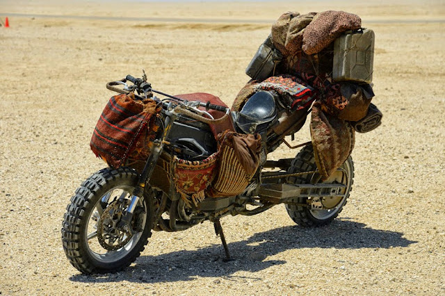 Motorcycle from Mad Max 1