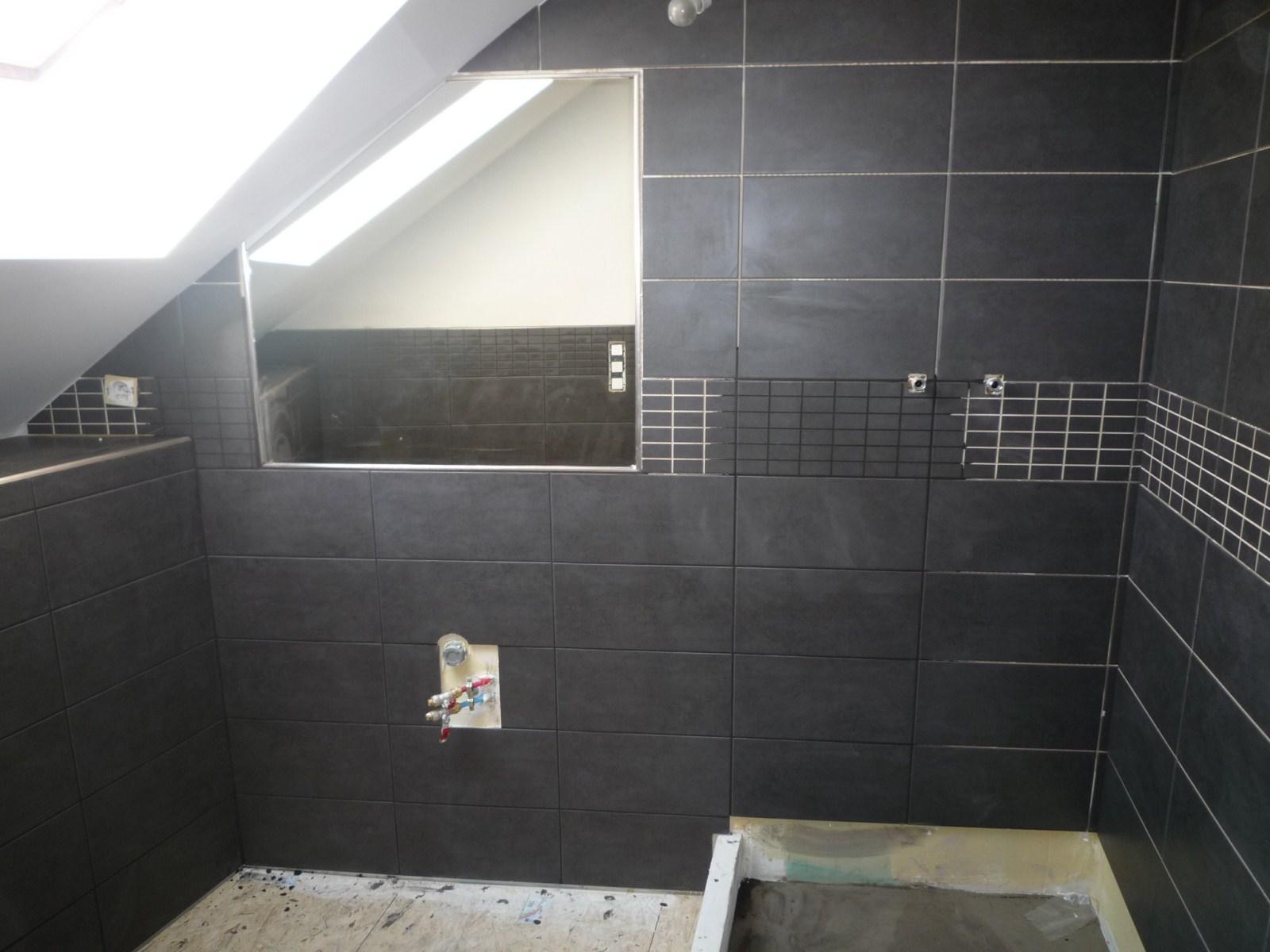 salle de douche 2 me tage vive les travaux. Black Bedroom Furniture Sets. Home Design Ideas