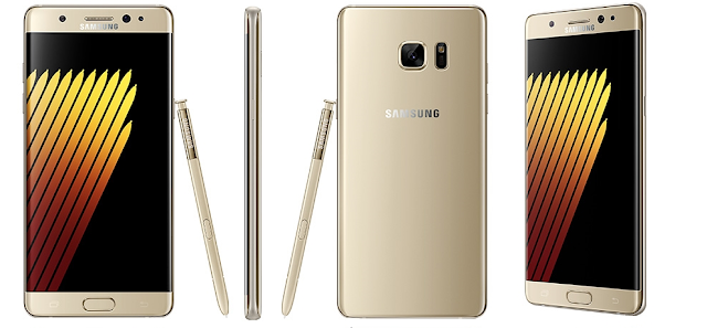 Galaxy Note 7 leaks in gold, blue and silver with new S Pen