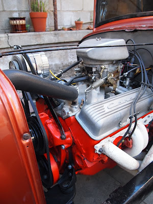 for sale 1958 62 early 283 chevy engine th350 trans ready to run. Black Bedroom Furniture Sets. Home Design Ideas