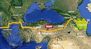 Avrupa'nın en büyük enerji projesi 'TANAP' açıldı.
